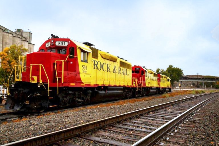 Rock and Rail Train